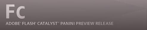 Adobe Flash Catalyst Panini